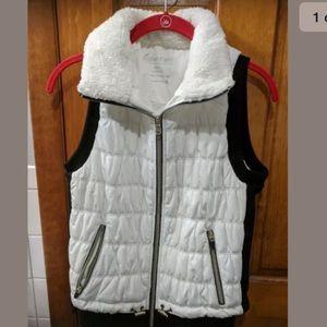 Calvin Klein Winter White Snow Vest!